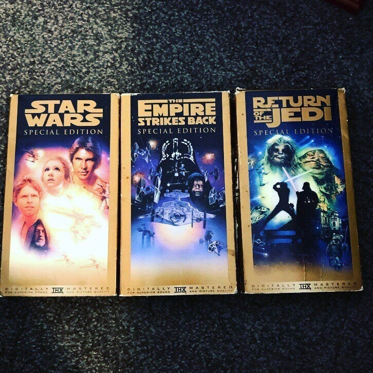 Star Wars Vintage VHS Set