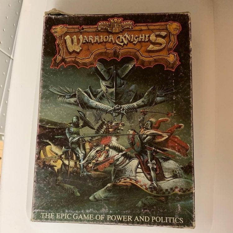 Warrior Knights Board Game 01018/8
