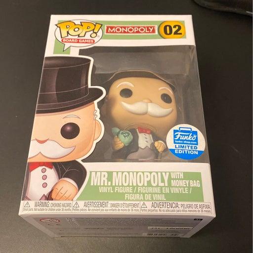 Funko Pop!  Mr. Monopoly with money bag