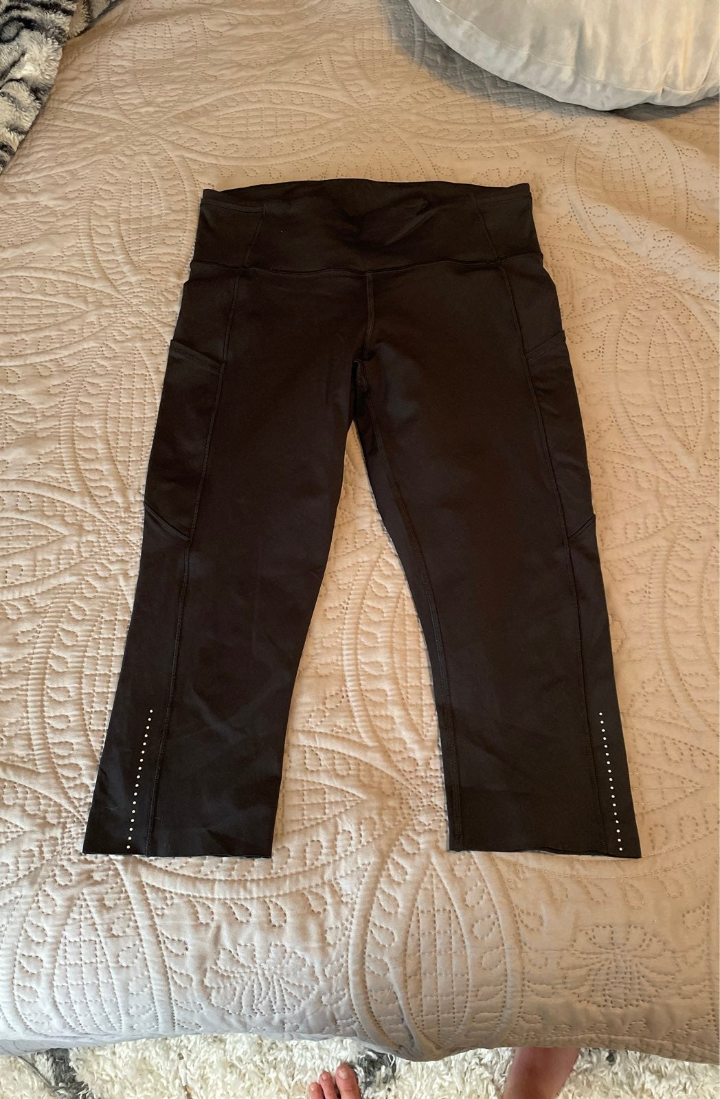 Lululemon fast and free crop leggings