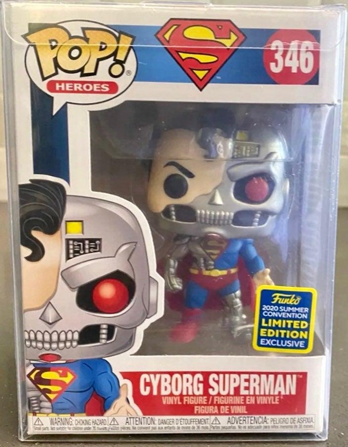 2020 SDCC Cyborg Superman LE Pre-Release