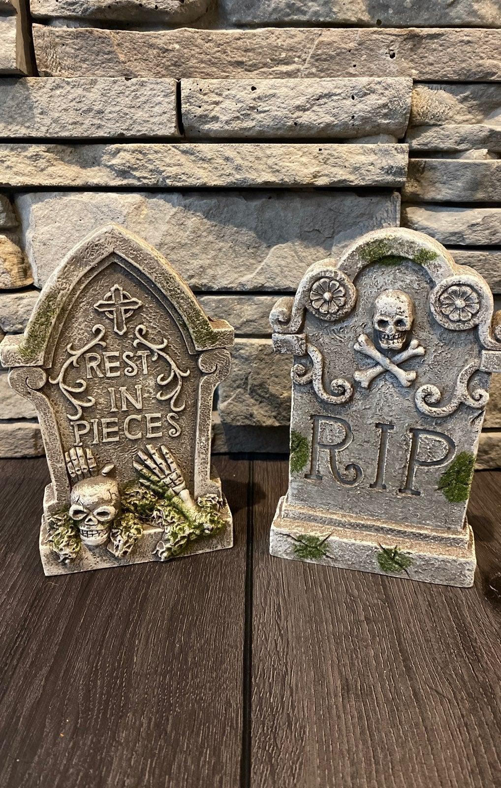 Halloween Tombstone decoration set