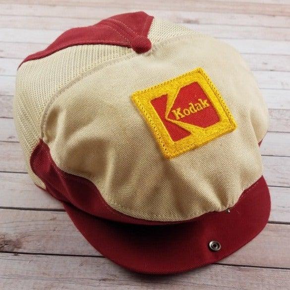 Rare VTG 70s Kodak Employee Snapback Hat