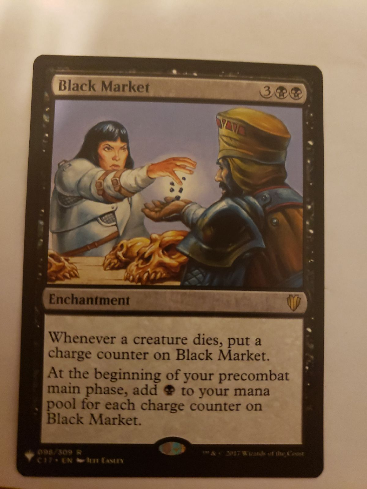 MTG black market mana charger card