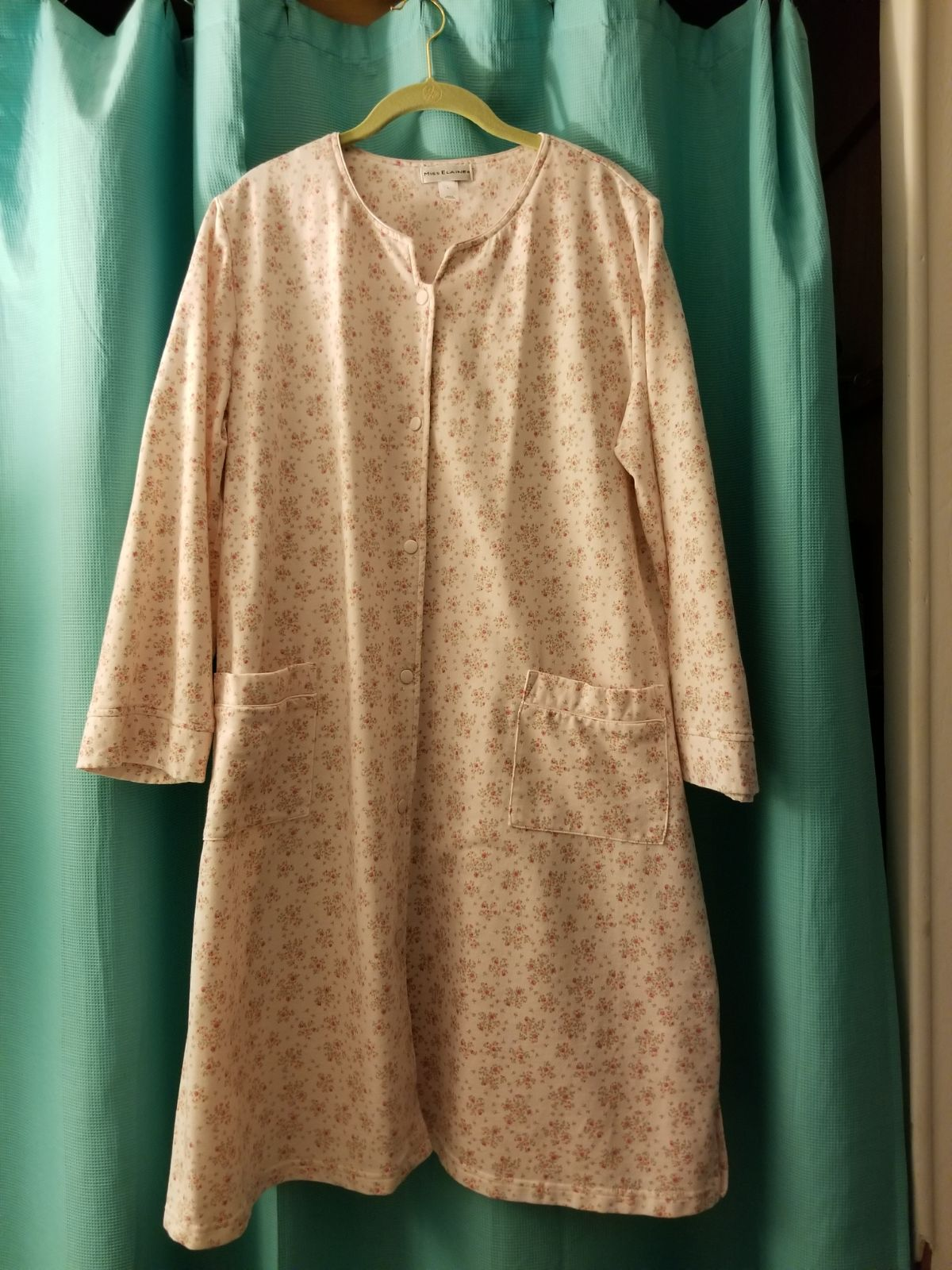 Miss Elaine Pink Floral Large Long Robe