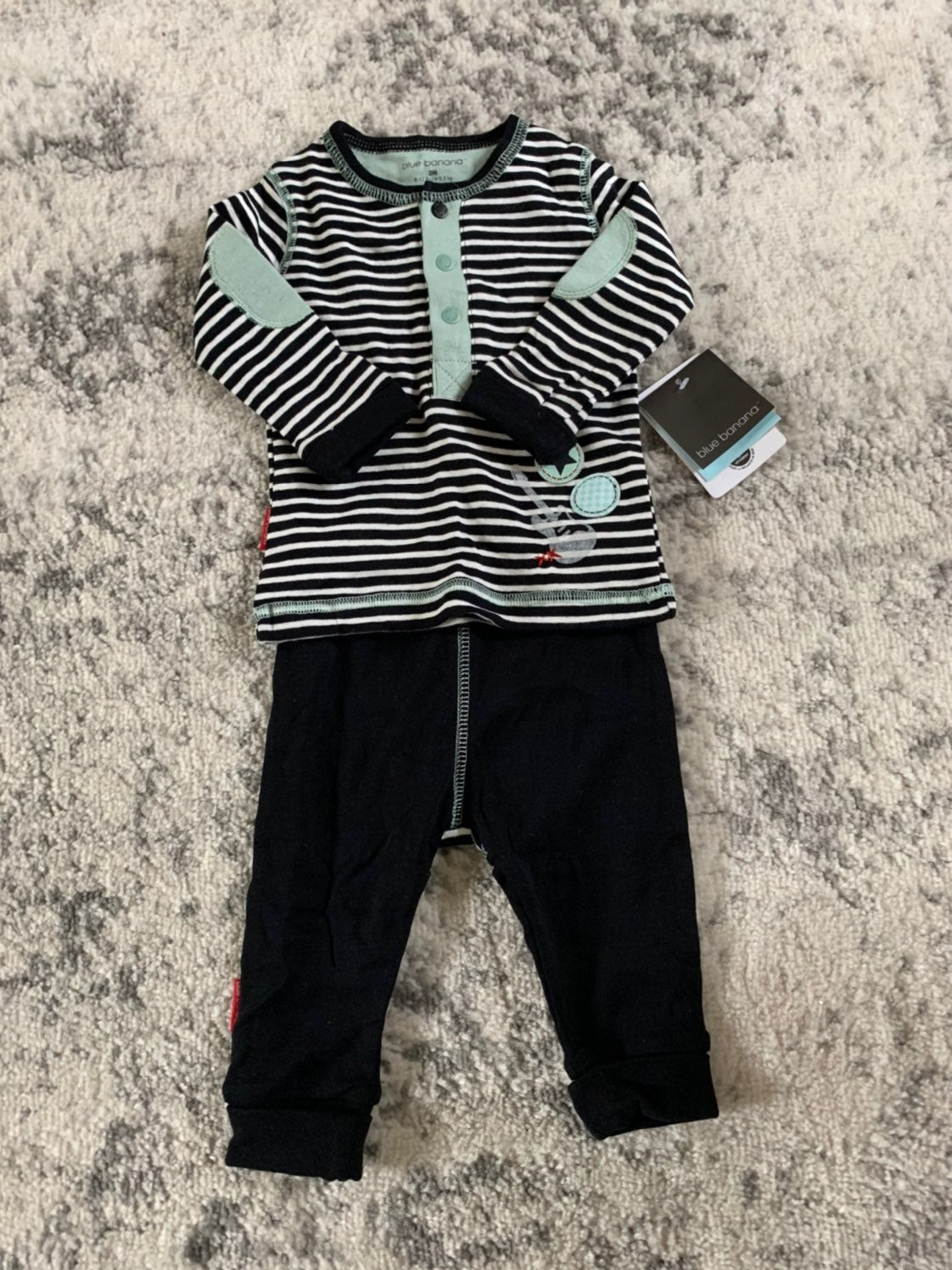 Baby boy music guitar outfit
