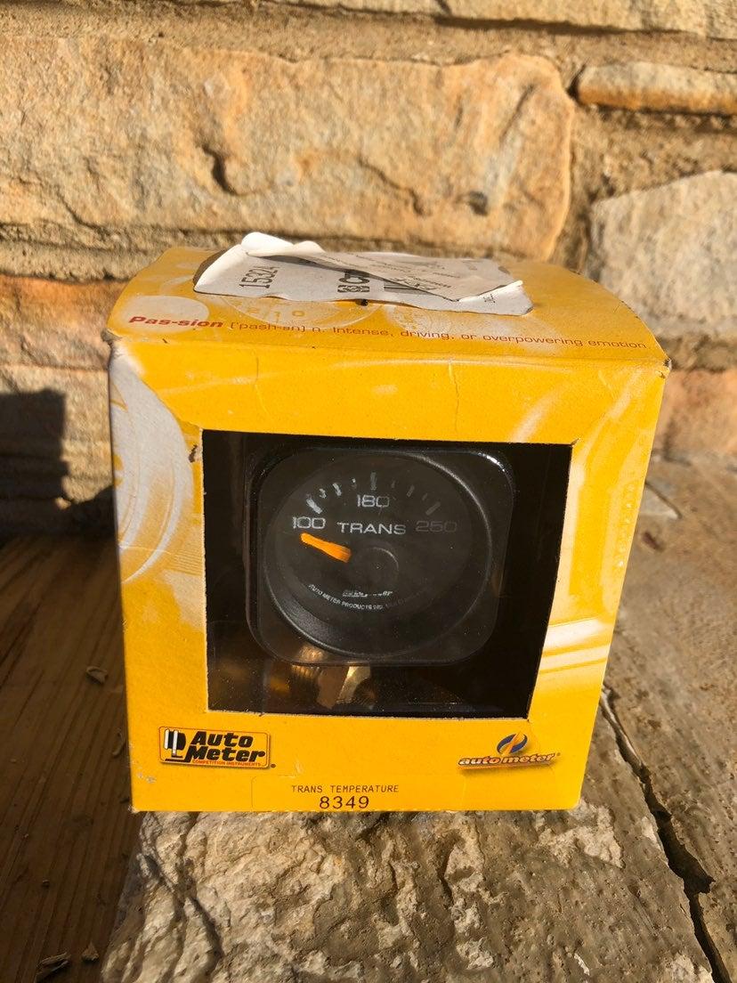 Auto meter trans temp gauge chevy new