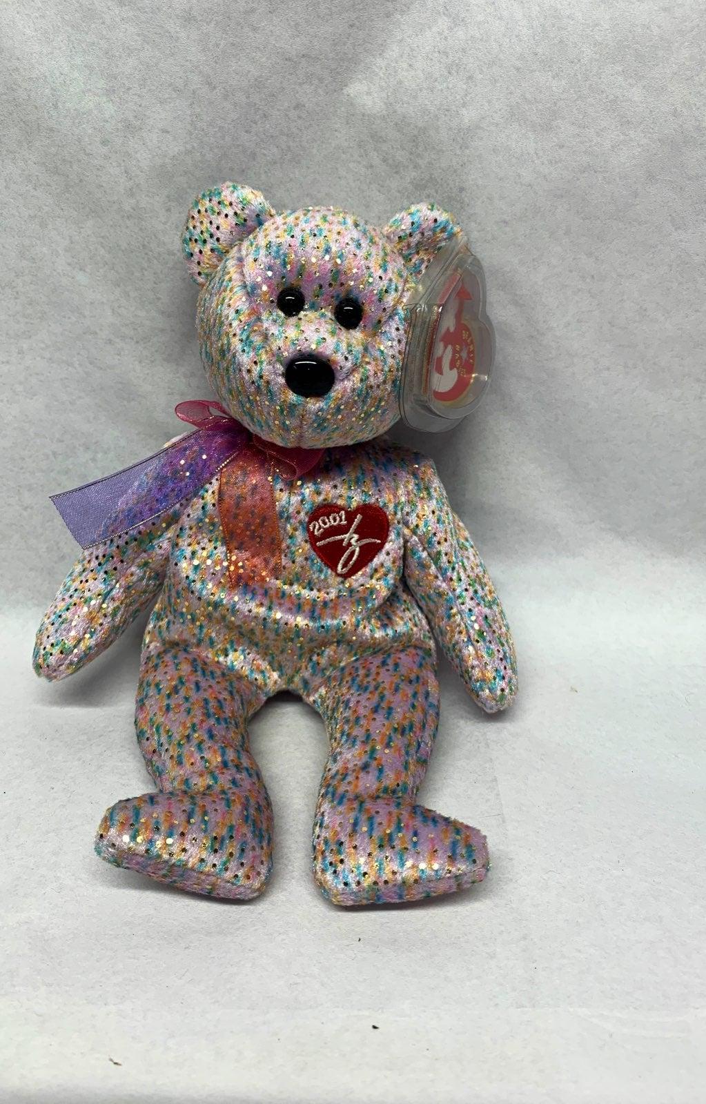 2001 TY Beanie Baby signature Bear