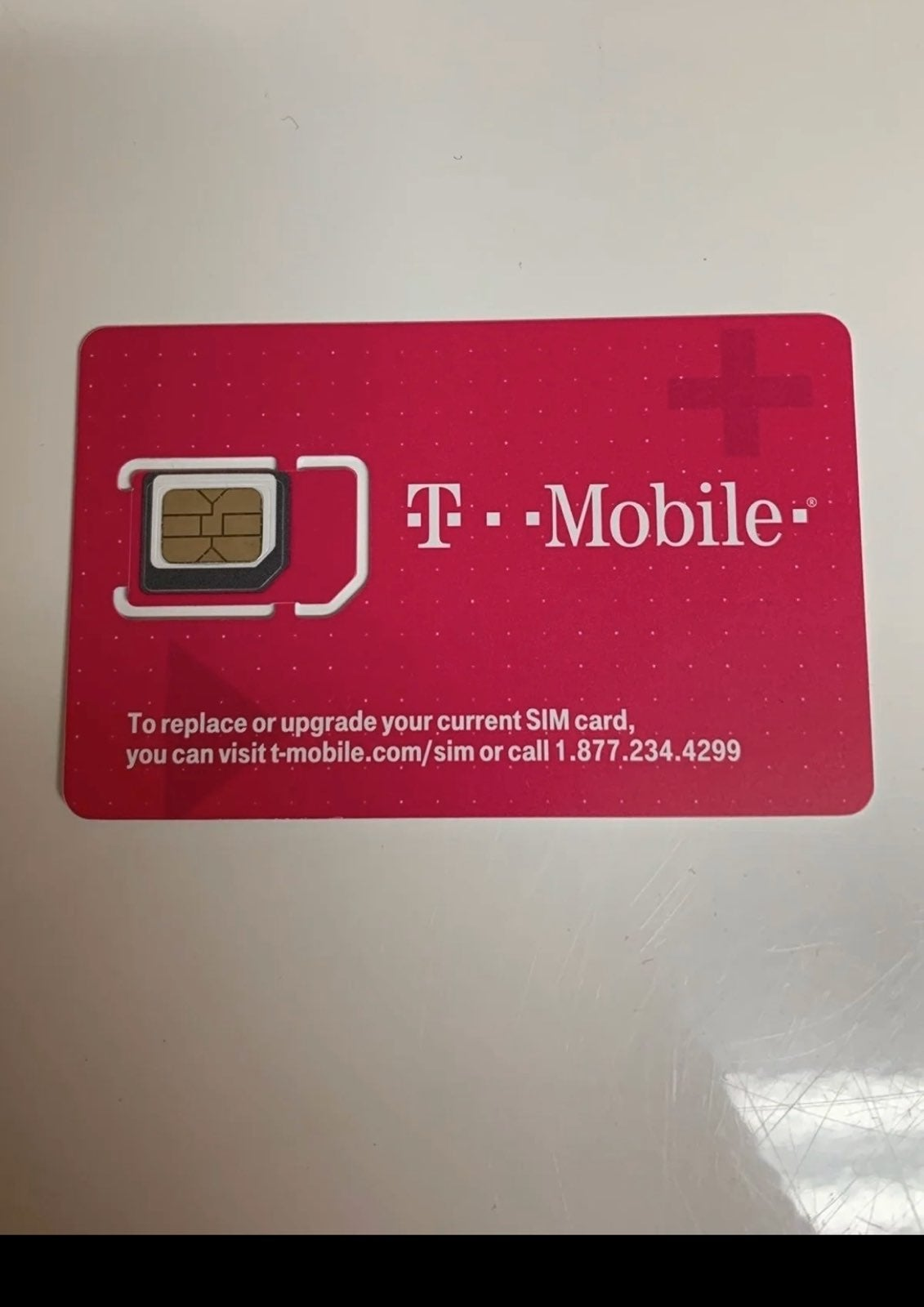 1 month of T-Mobile Prepaid service of t