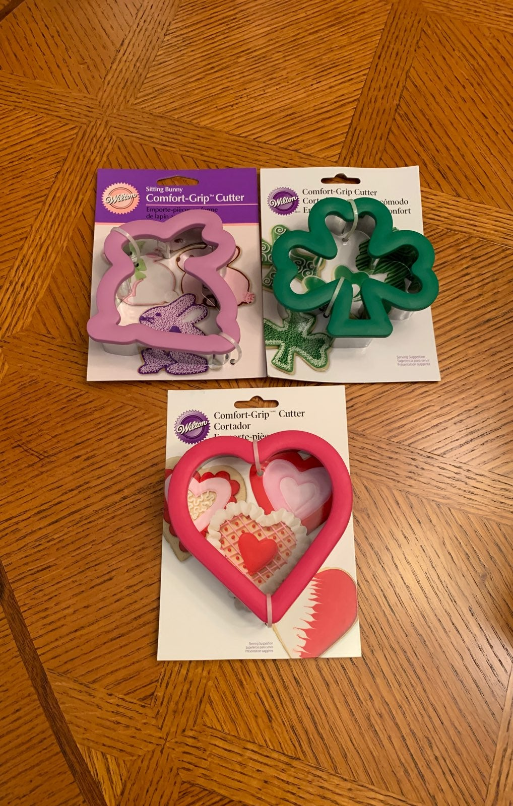 comfort grip cookie cutter lot