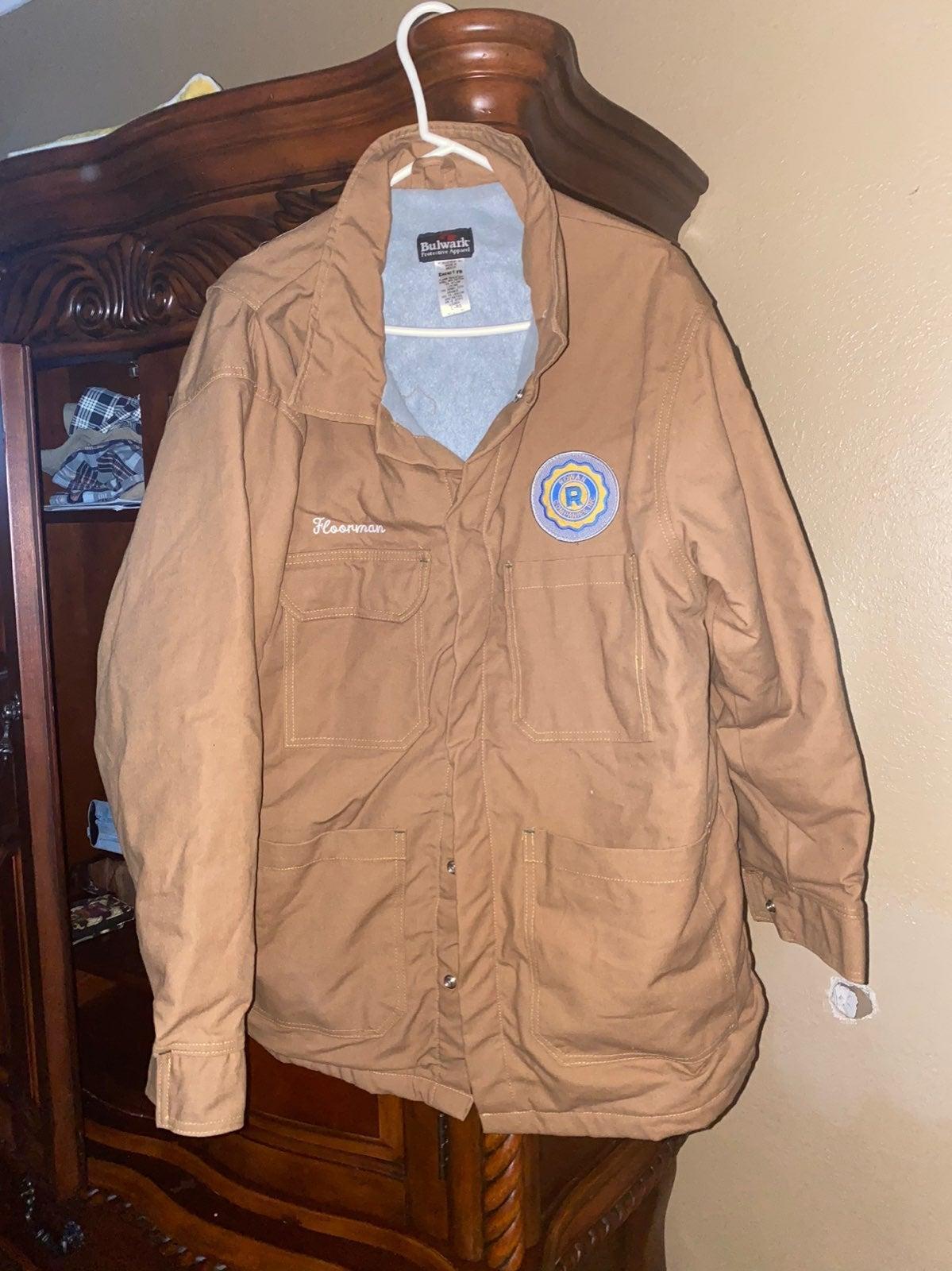 Mens bulwark fr jacket large