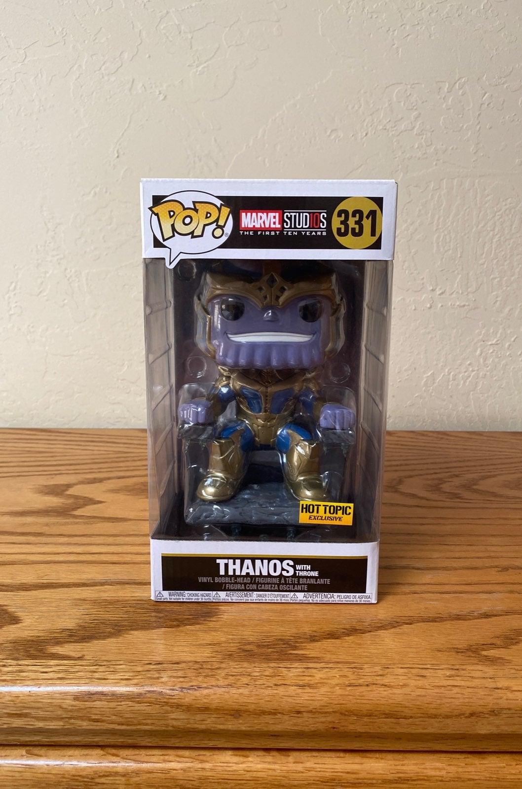Thanos with Throne Funko