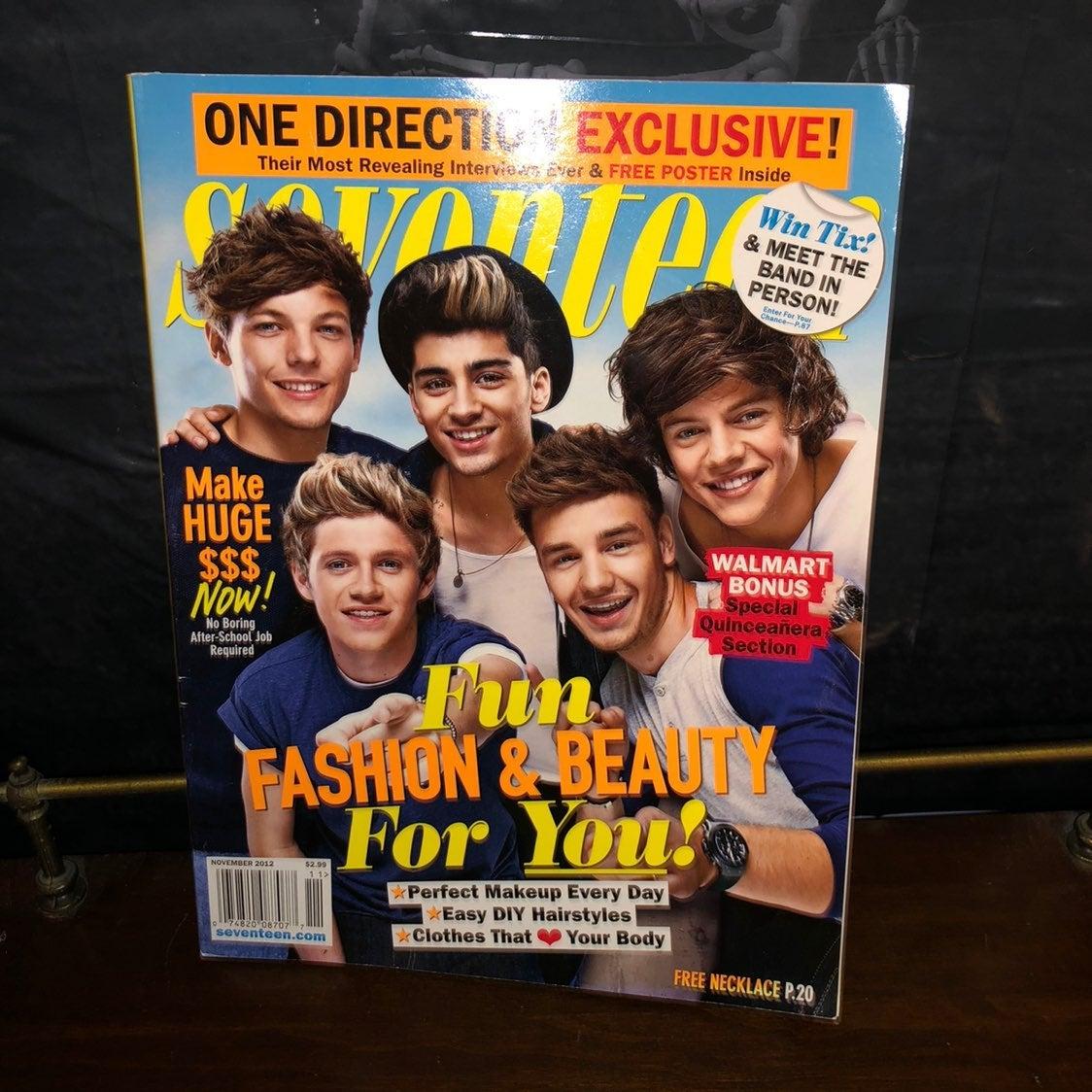 One Direction Seventeen Magazine