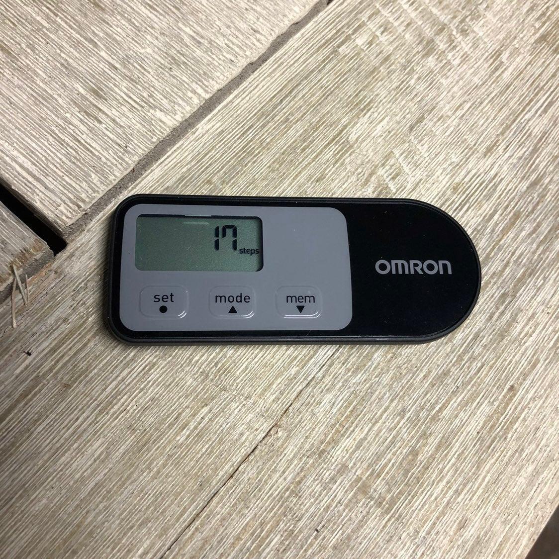 Omron HJ-321 Tri-Axis Alvita Pedometer,