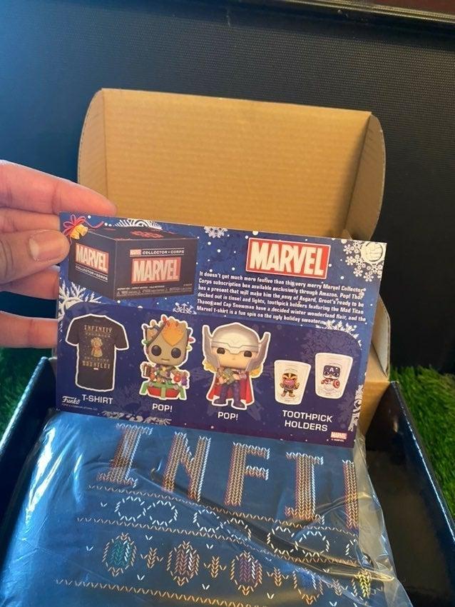 Funko pop! Marvel Collectors Corps