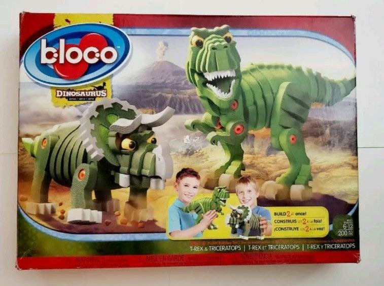Bloco Dinosaurs Series Building Set