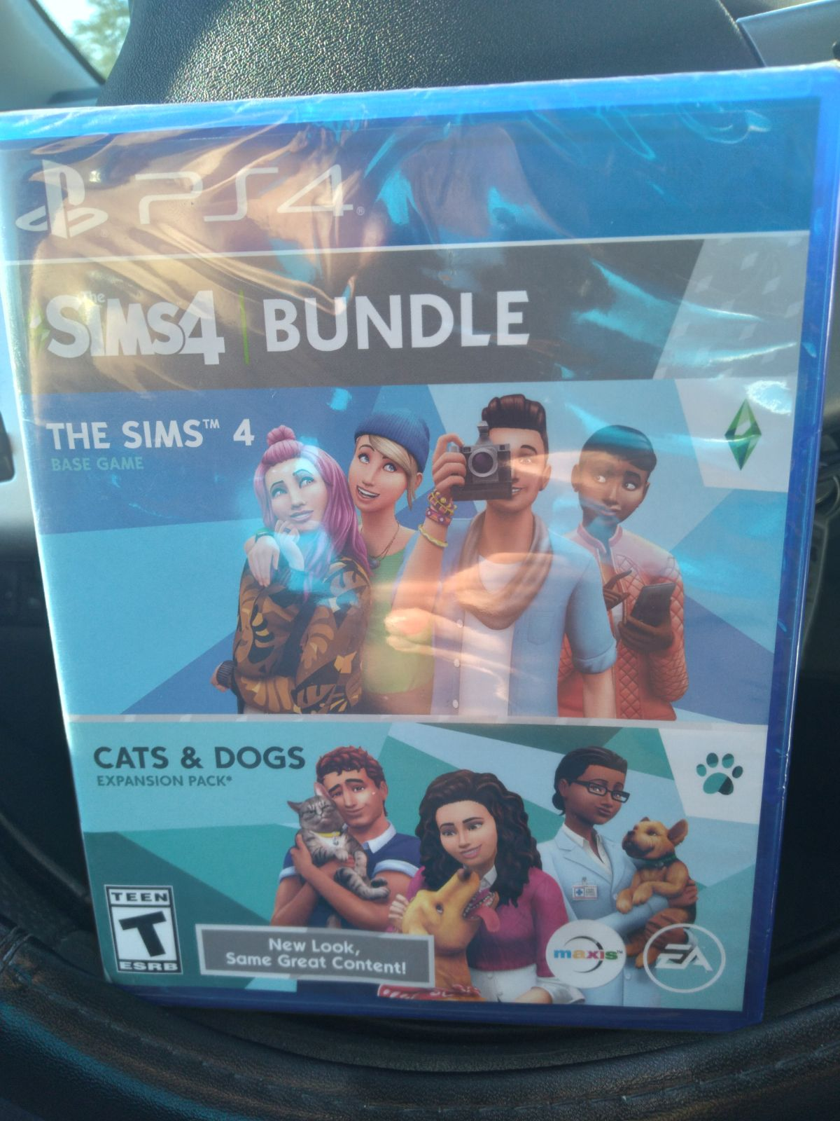 The Sims 4 / Cats & Dogs Ps4 NIP Bundle