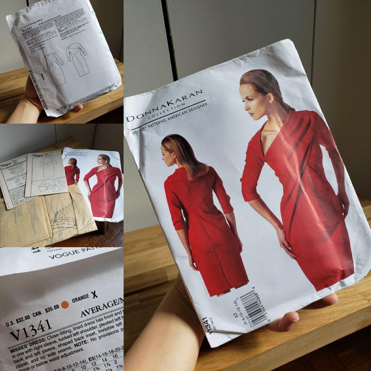 Bundle of 3 Vogue Patterns of Garment Ma