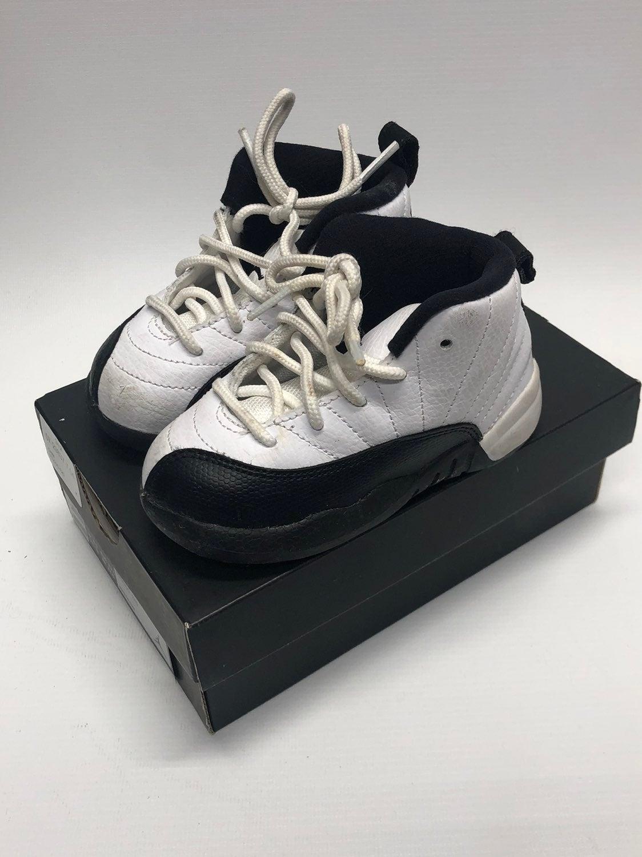 Nike Air Jordan 12 Retro Taxi 7C Toddler