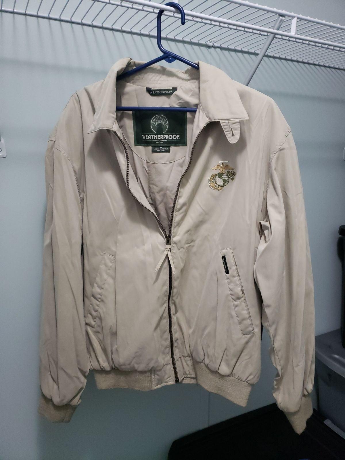 Weatherproof Garment USMC jacket great c