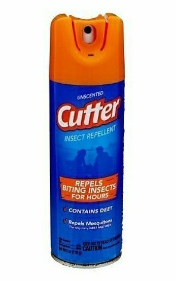6 Cutter Insect Repellent 6 oz Spray