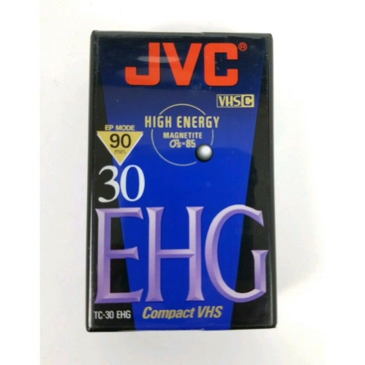 New Sealed JVC EHG VHS Compact VHS Tape
