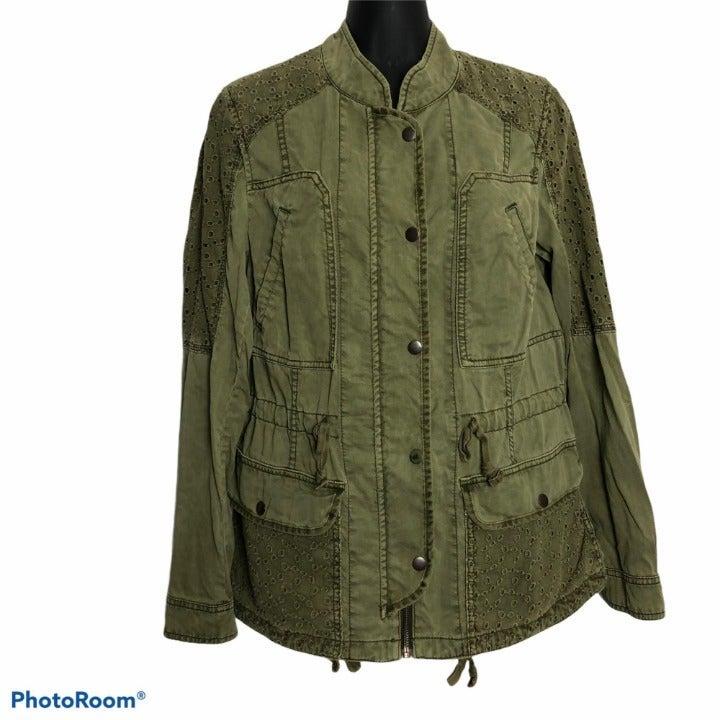 Hei Hei Bohemian Military Cargo Jacket