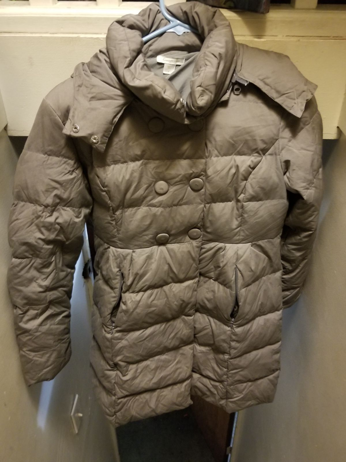 Grey Garnett Hill Size 4 winter jacket