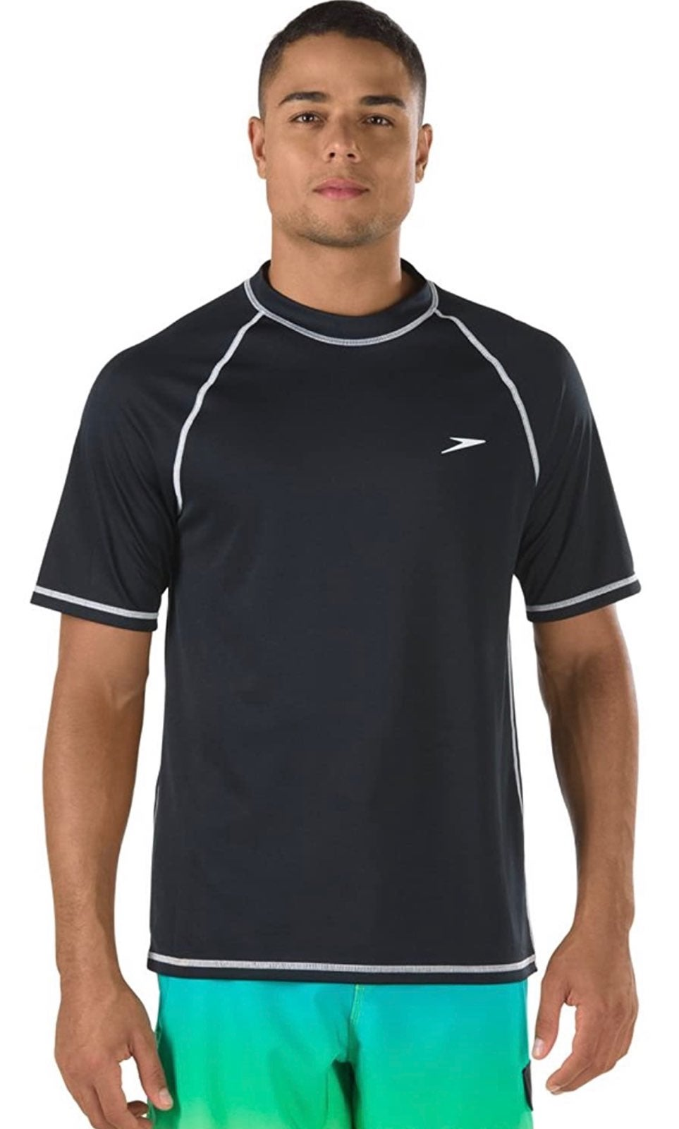 Speedo Men's UV Swim Shirt Short Sleeve