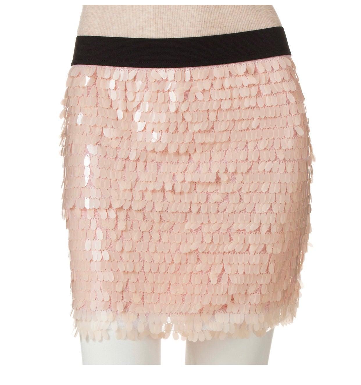 Candie's Sequin Body Con Skirt