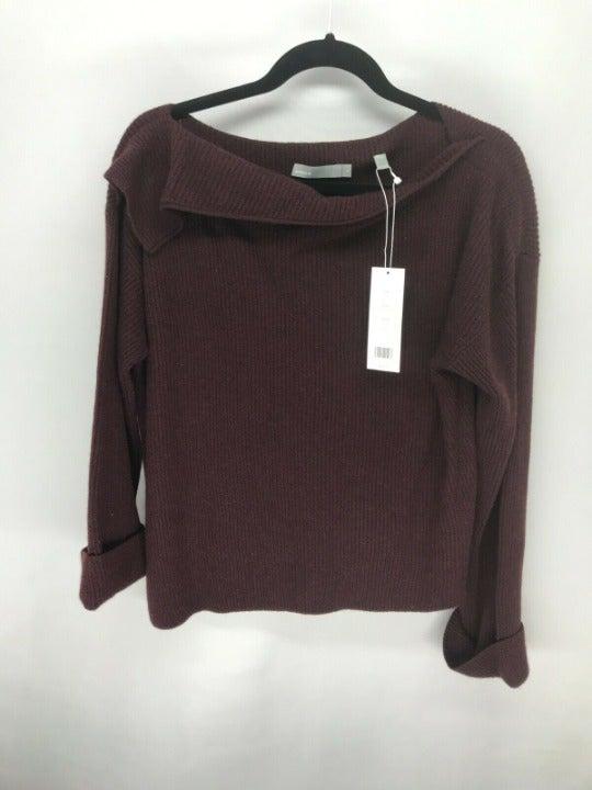 Vince Purple Cashmere Pullover Sweater