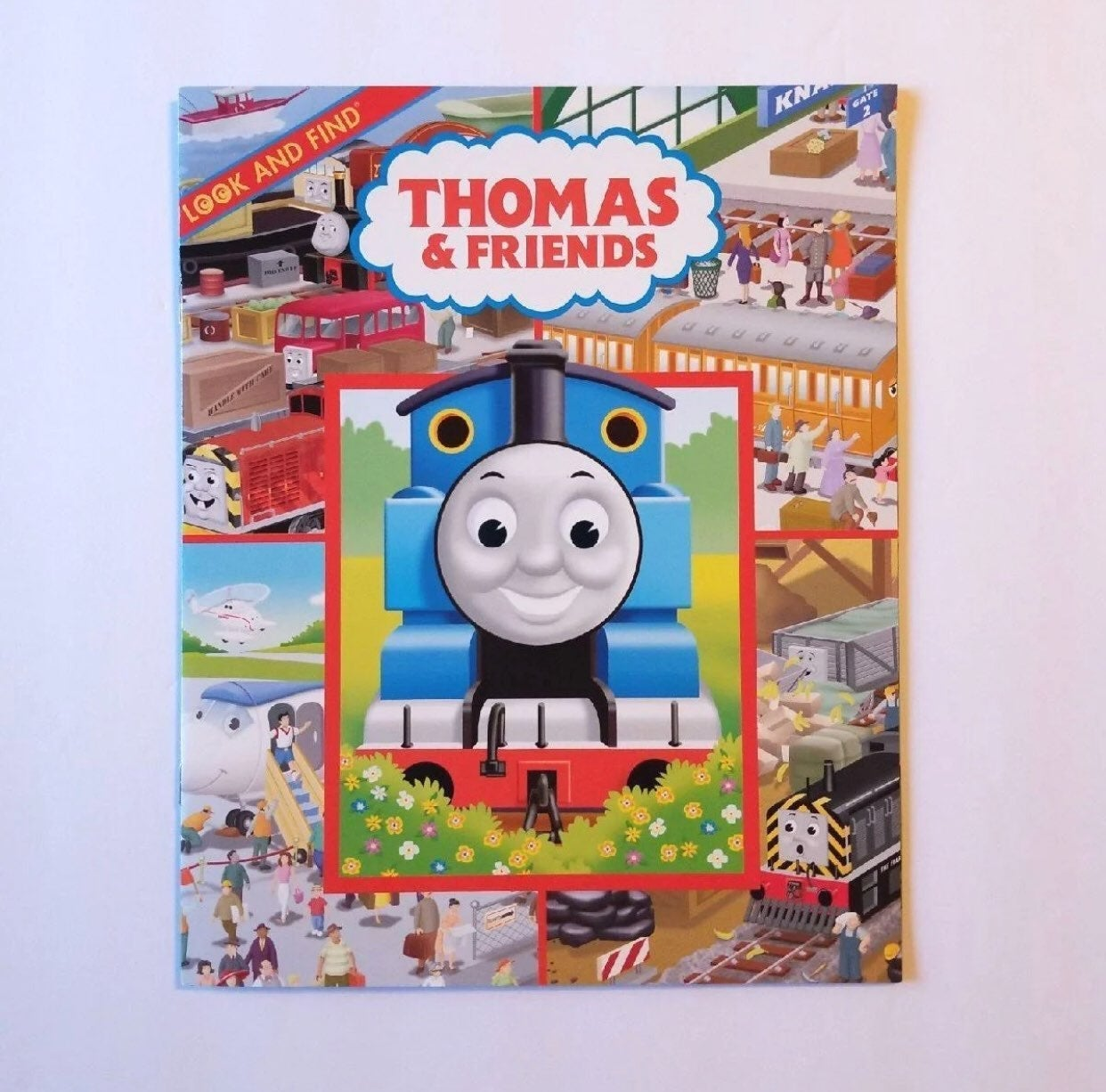 THOMAS & FRIENDS LOOK FIND ACTIVITY BOOK