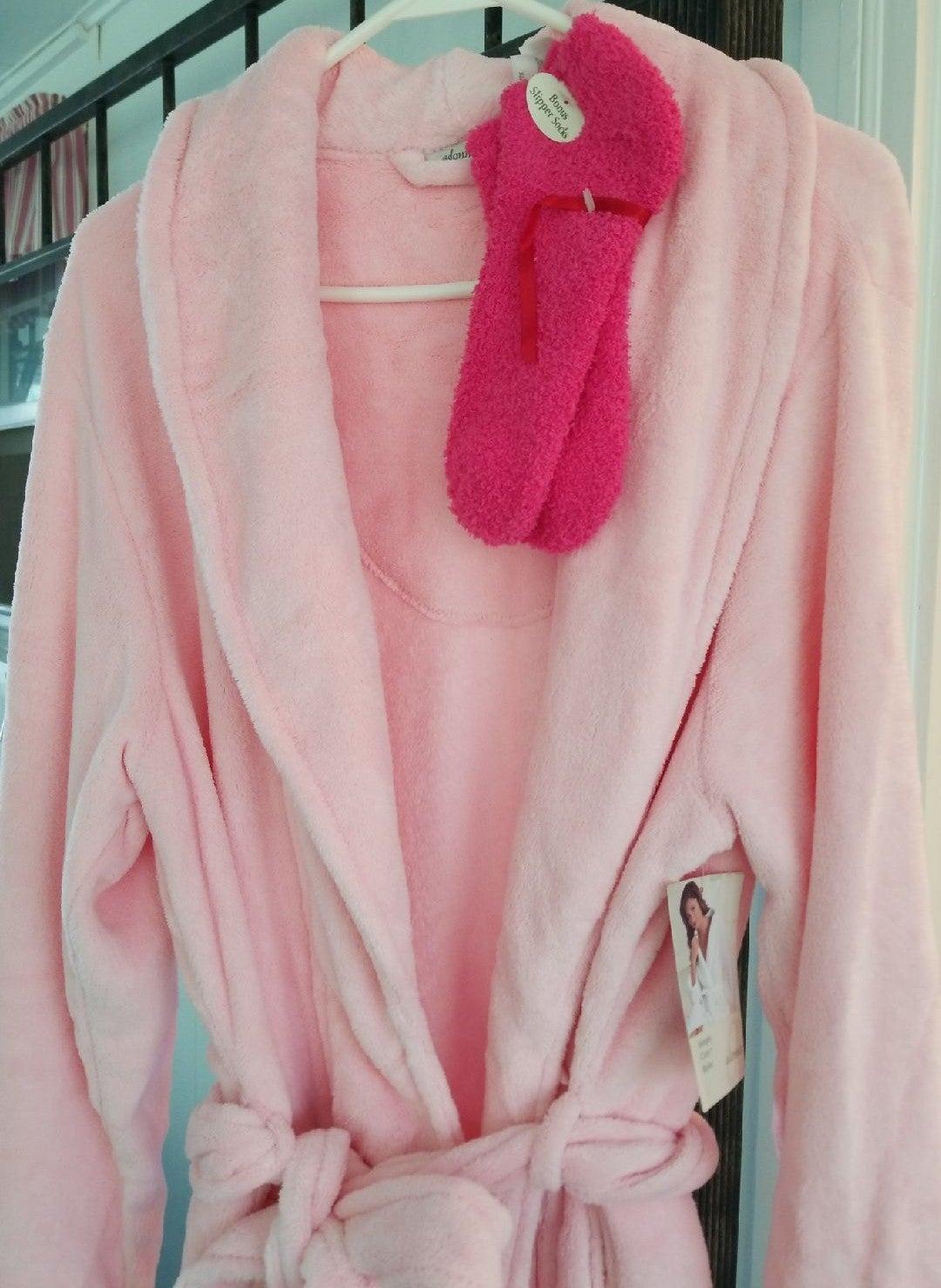 Robe comfy, warm full length robe