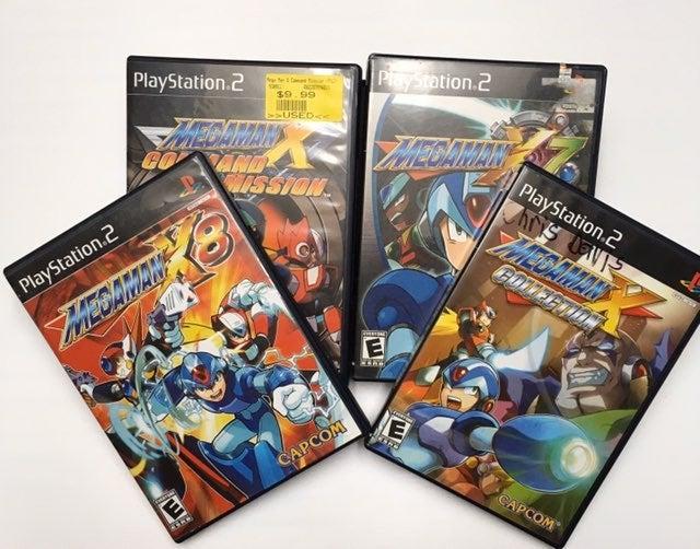 PS2 Mega Man X Bundle