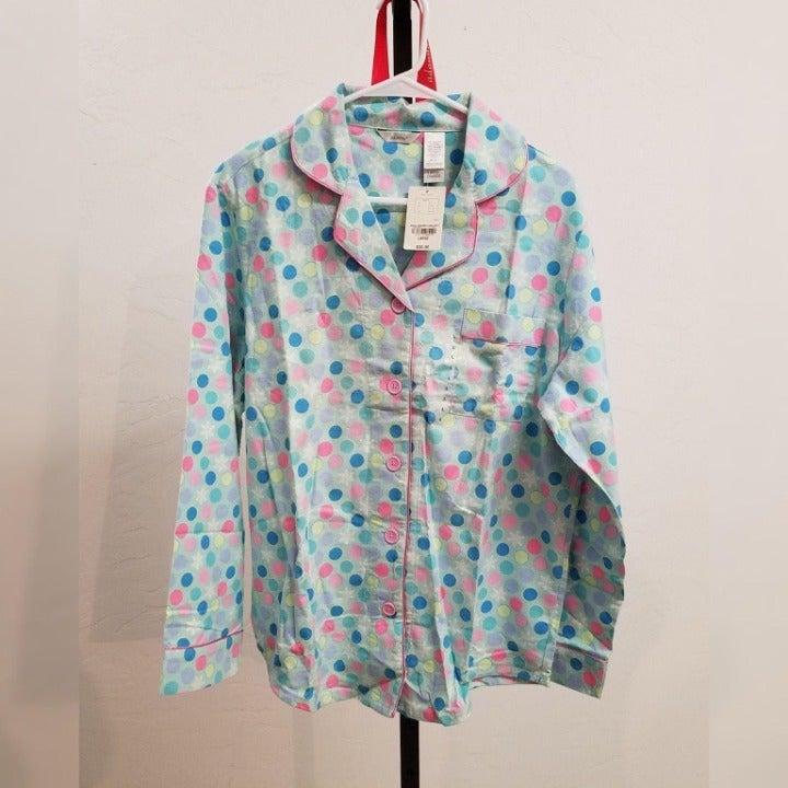 Adonna Flannel Pajama Set Size LG - NWT