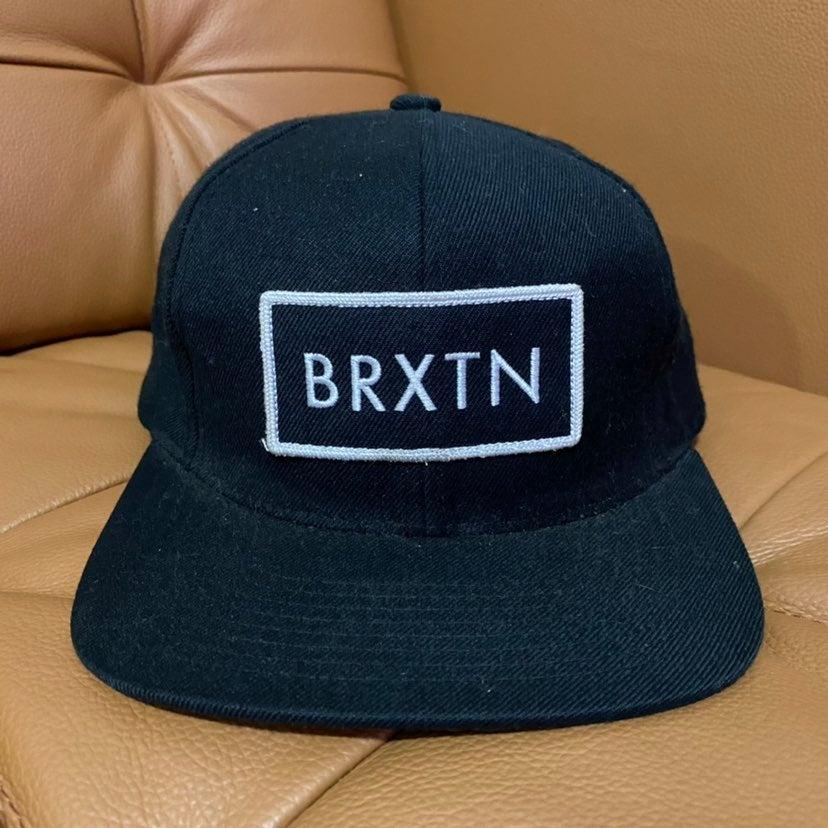 Briston Rift Black White Snapback Hat