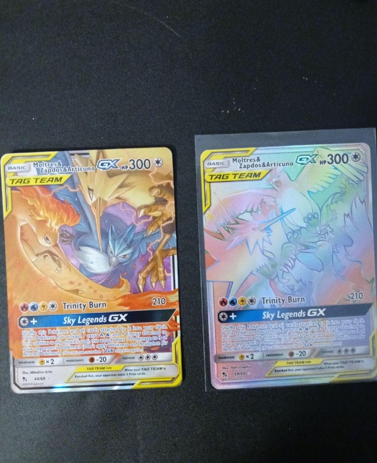 Rainbow Rare/Full Art Pokemon