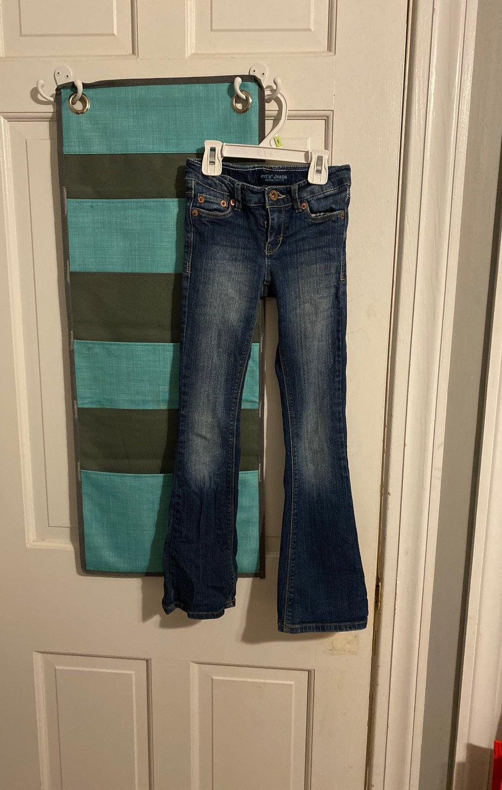 Levi's Kids Skinny Flare Fit Jeans Sz 7