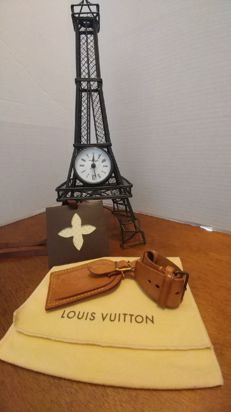 Louis Vuitton Luggage Tag And POIGNET