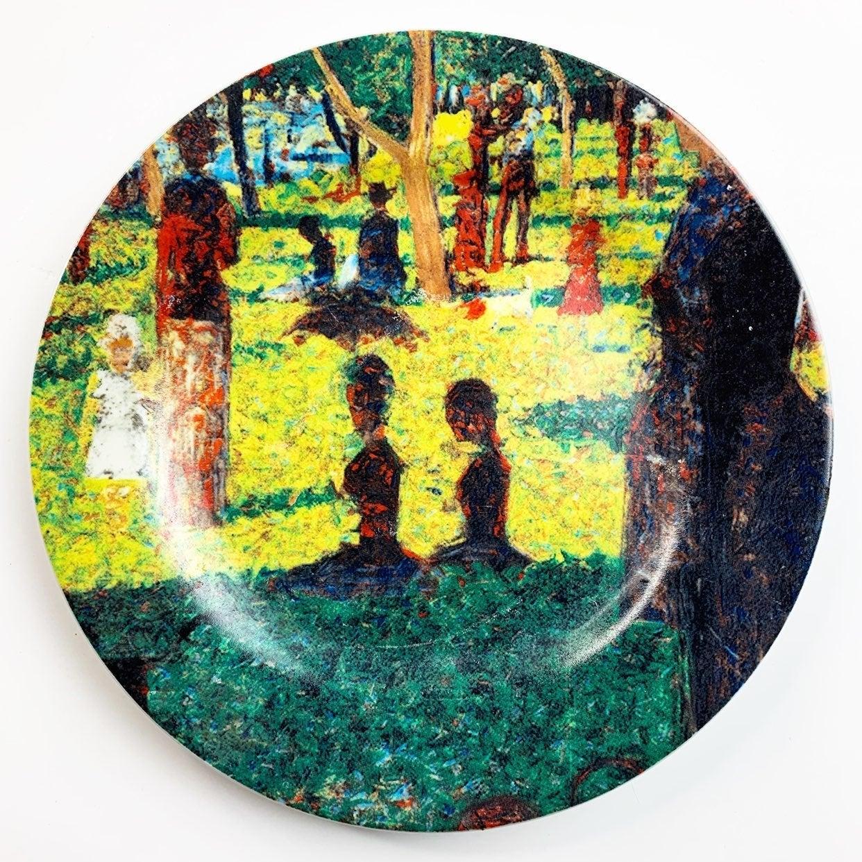 Georges Seurat Porcelain by Sakura Plate