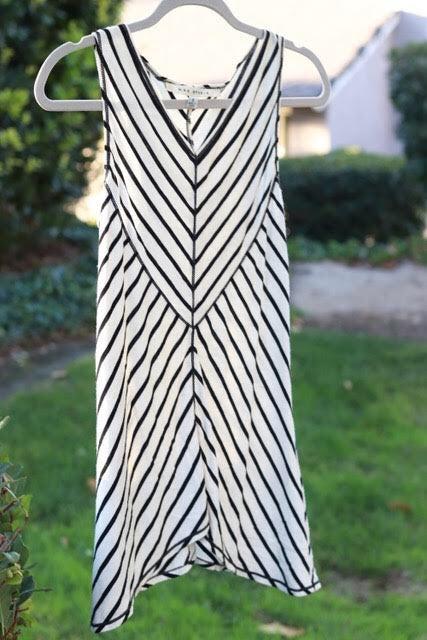 Max Studio Striped Sleeveless Top