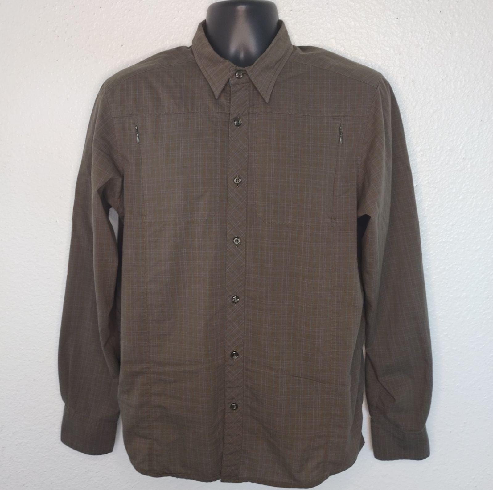 Arc'teryx Mens M Shirt Outdoor Button Up