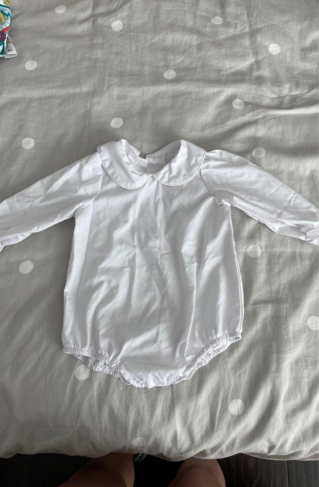 Beaufort bonnet Maudes shirt 6-12mo