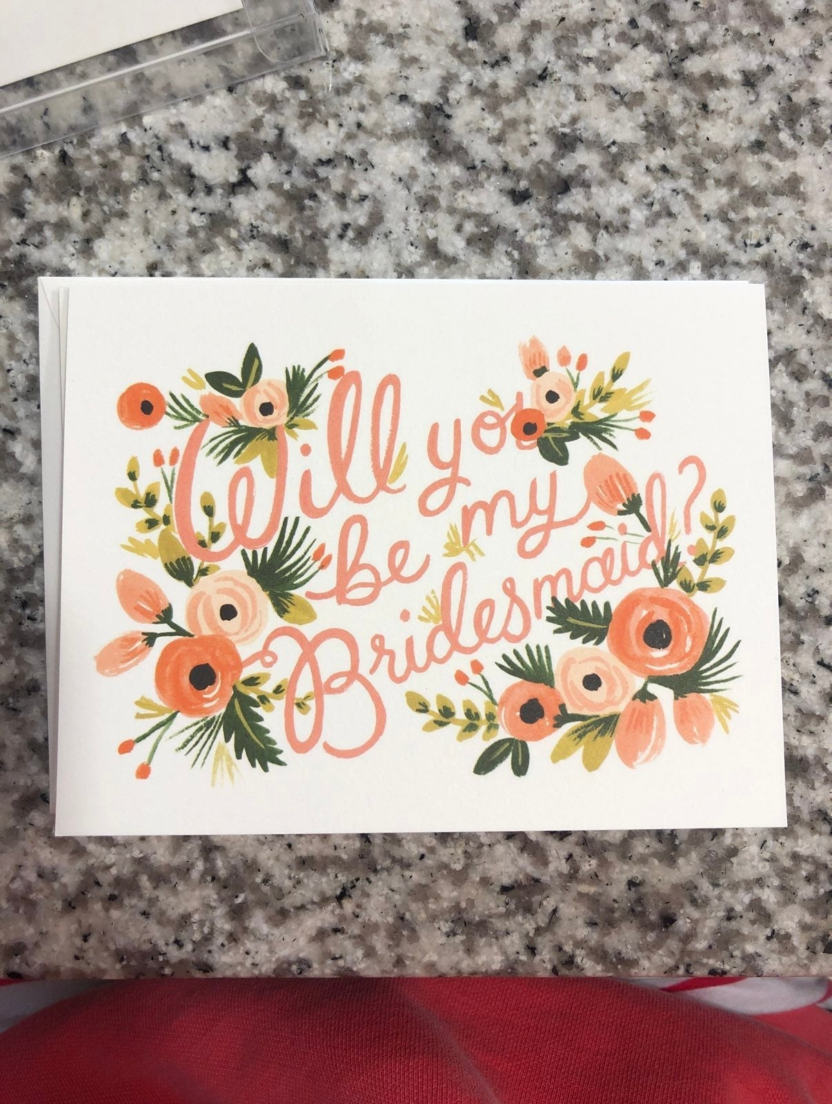 Rifle Paper Co Bridesmaid Cards SET OF 3