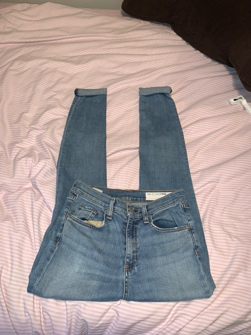 NWOT Rag & Bone Light Wash Jeans