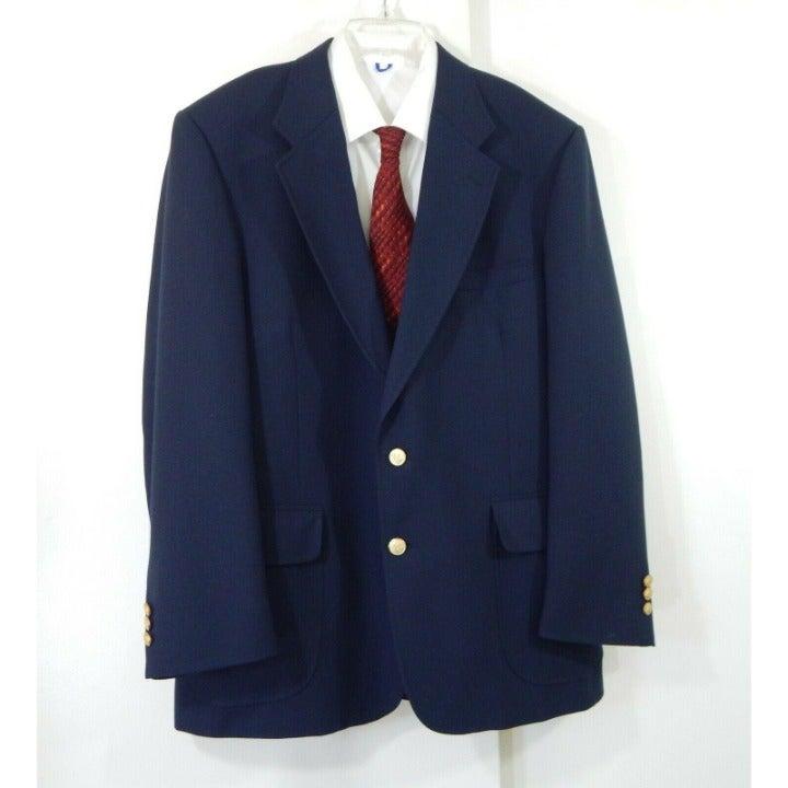 STAFFORD jacket blazer sport coat 44R