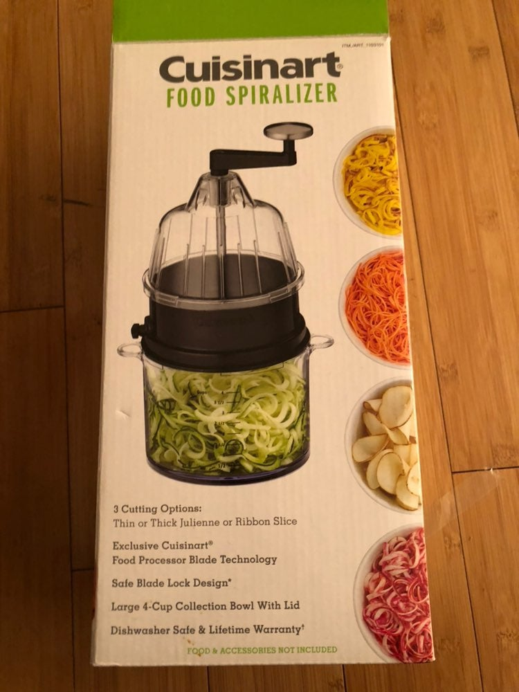 Cuisinart food spiralizer