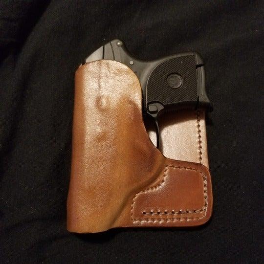 Front Line Rear Pocket Leather Holster