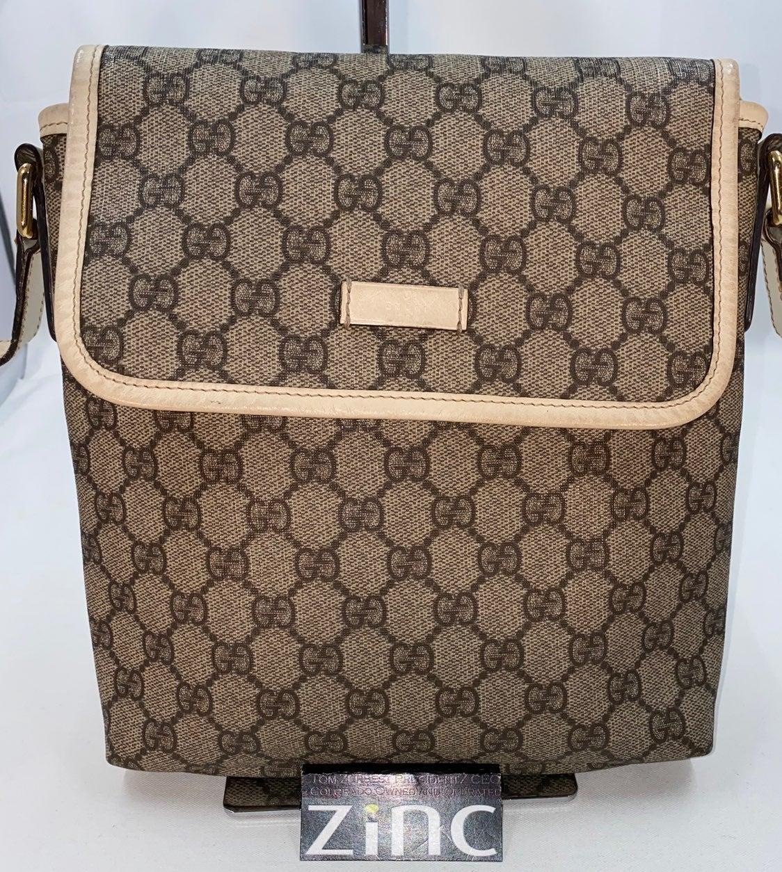 Gucci GG Supreme Messenger/Cross Bag