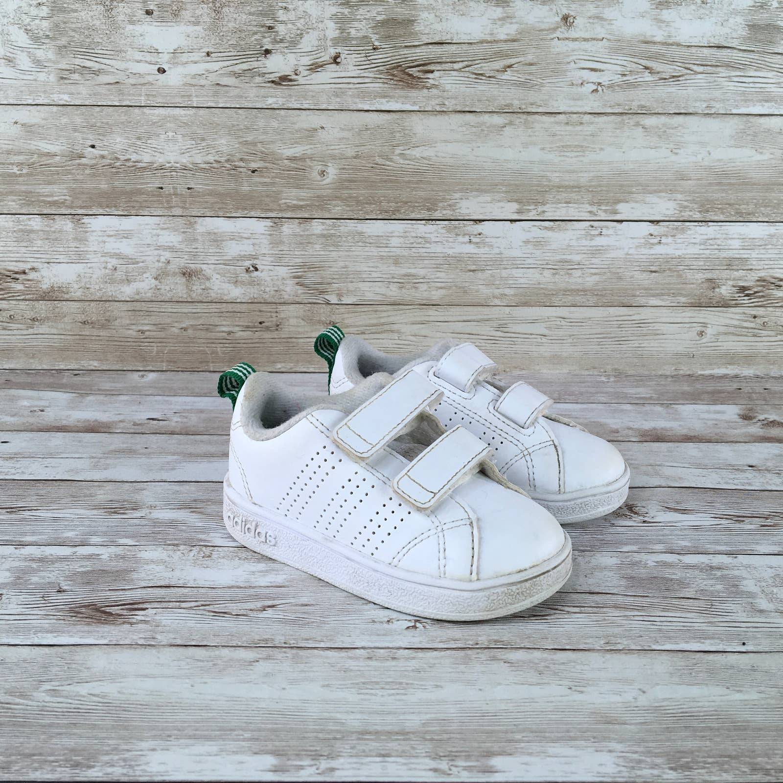 Adidas Advantage VS Clean Size 5C White